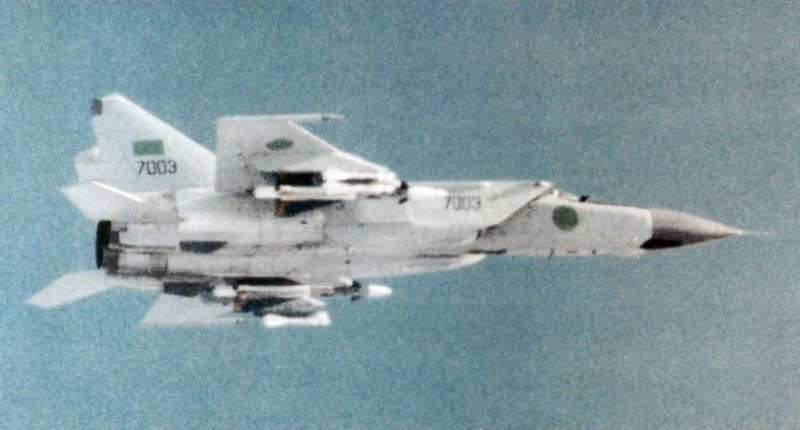 Mikoyan MiG-25 grafika